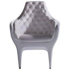 Showtime Armchair, Capitoné Upholstery