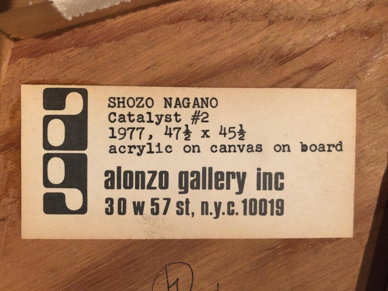 American Shozo Nagano Sculpture Painting For Sale