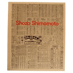 Shozo Shimamoto, by Axel Vervoordt Gallery, 1st Ed