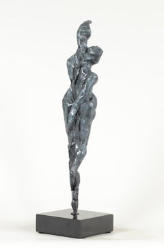 Delicate Existence by Shray, Bronze Abstract Sculpture, Contemporary Sculpture