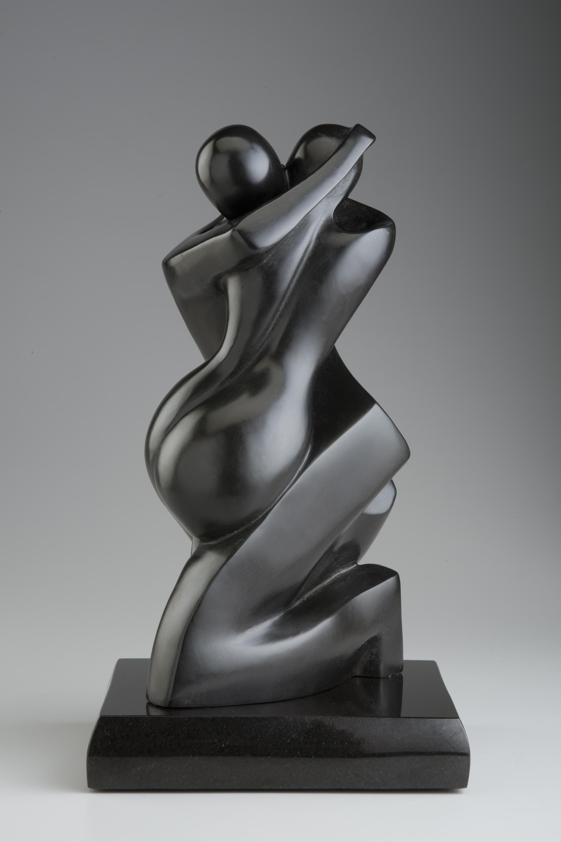 Soulmates II by Shray, Bronze Abstract Sculpture, Contemporary Sculpture