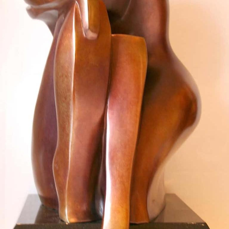 You & Me by Shray, Bronze Figurative Sculpture For Sale 4