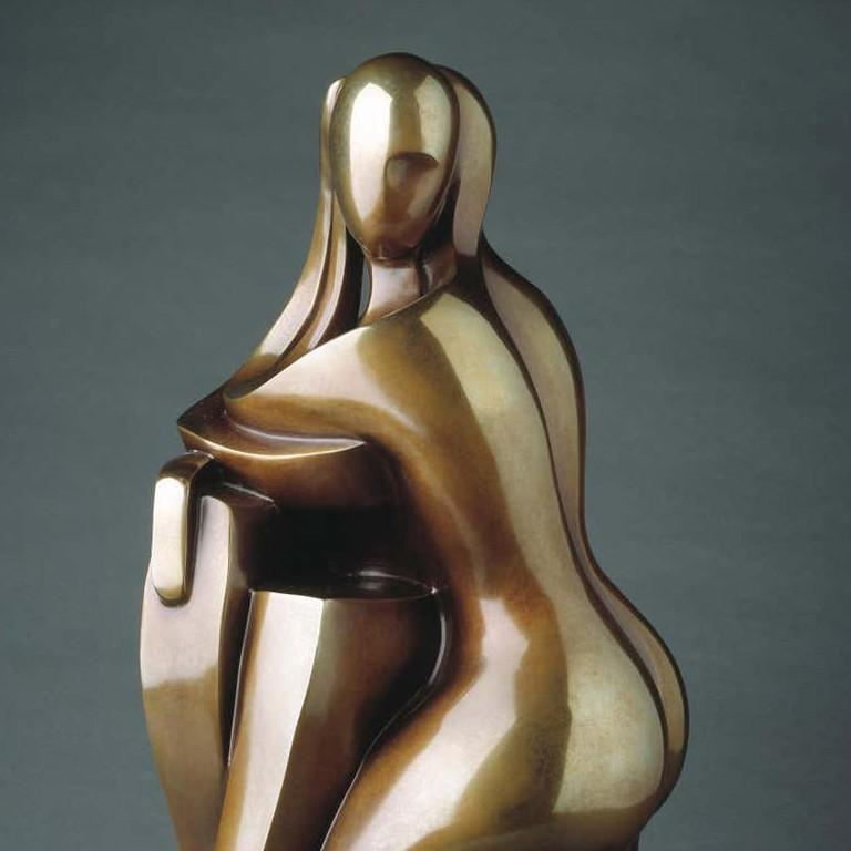 You & Me by Shray, Bronze Figurative Sculpture For Sale 6