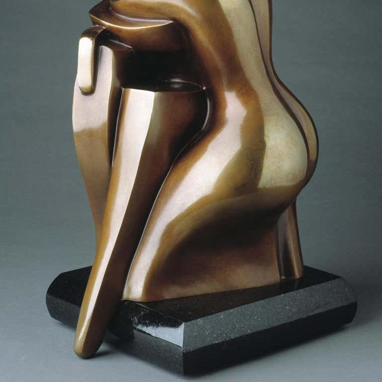You & Me by Shray, Bronze Figurative Sculpture For Sale 7