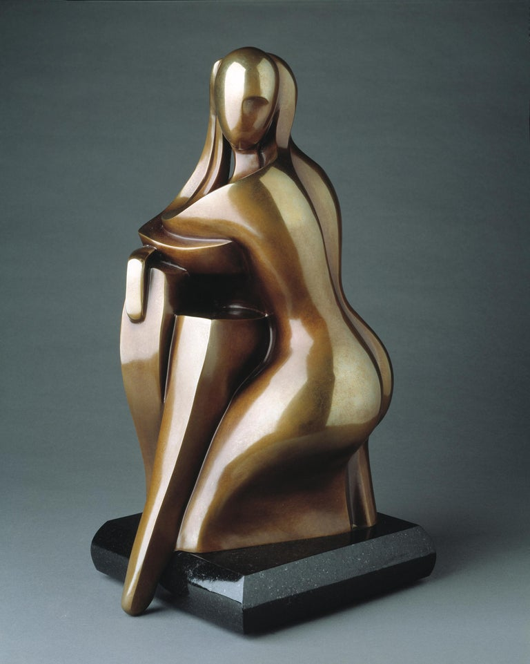 You & Me by Shray, Bronze Figurative Sculpture For Sale 1