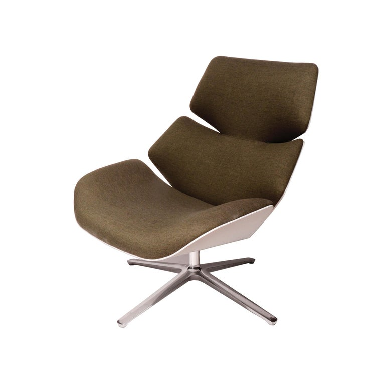 """Modern """"Shrimp"""" Easy Chair by Jehs + Laub for COR Sitzmøbel For Sale"""