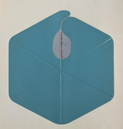 Hexagon - Original Mixed Media by Shu Takahashi - 1973