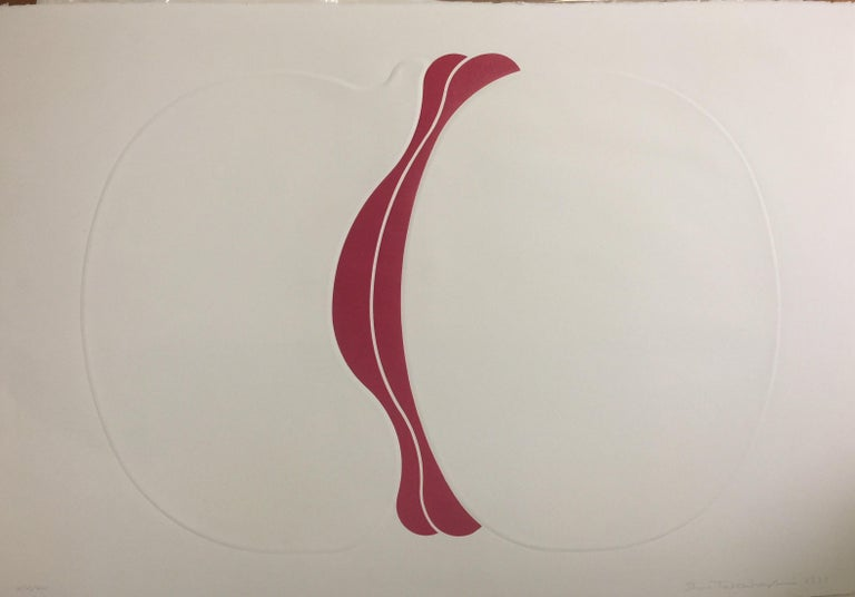 Untitled is an original artwork realized by Shu Takahashi in the 1970s. Serigraph on paper. Good conditions, except for some very light spots.   The artwork is a beautiful serigraph realized by the famous Japanese artist in the 1970s. It shows a