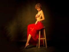 "'Pamina' Photography 62"" x 47"" framed by Shuki Laufer"