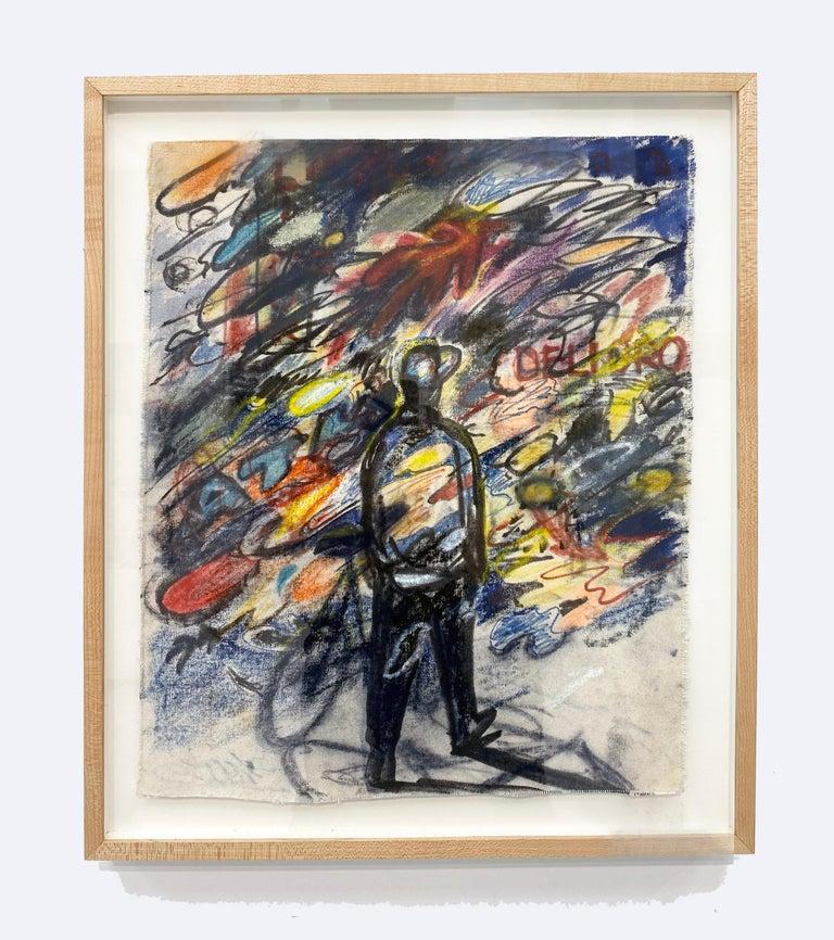 Shuto Okayasu Abstract Painting - Midnight Tour