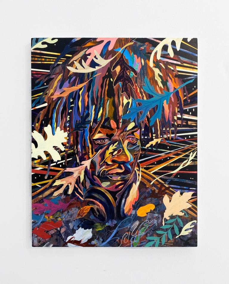 Shuto Okayasu Abstract Painting - Night Dancer