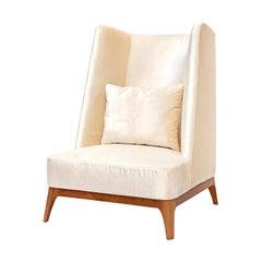 Shuttle Velvet Armchair