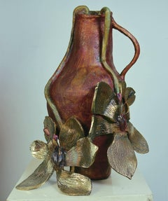 "Illusion series, Bronze, Flower and Pollen talk of Love & Procreation ""In Stock"""