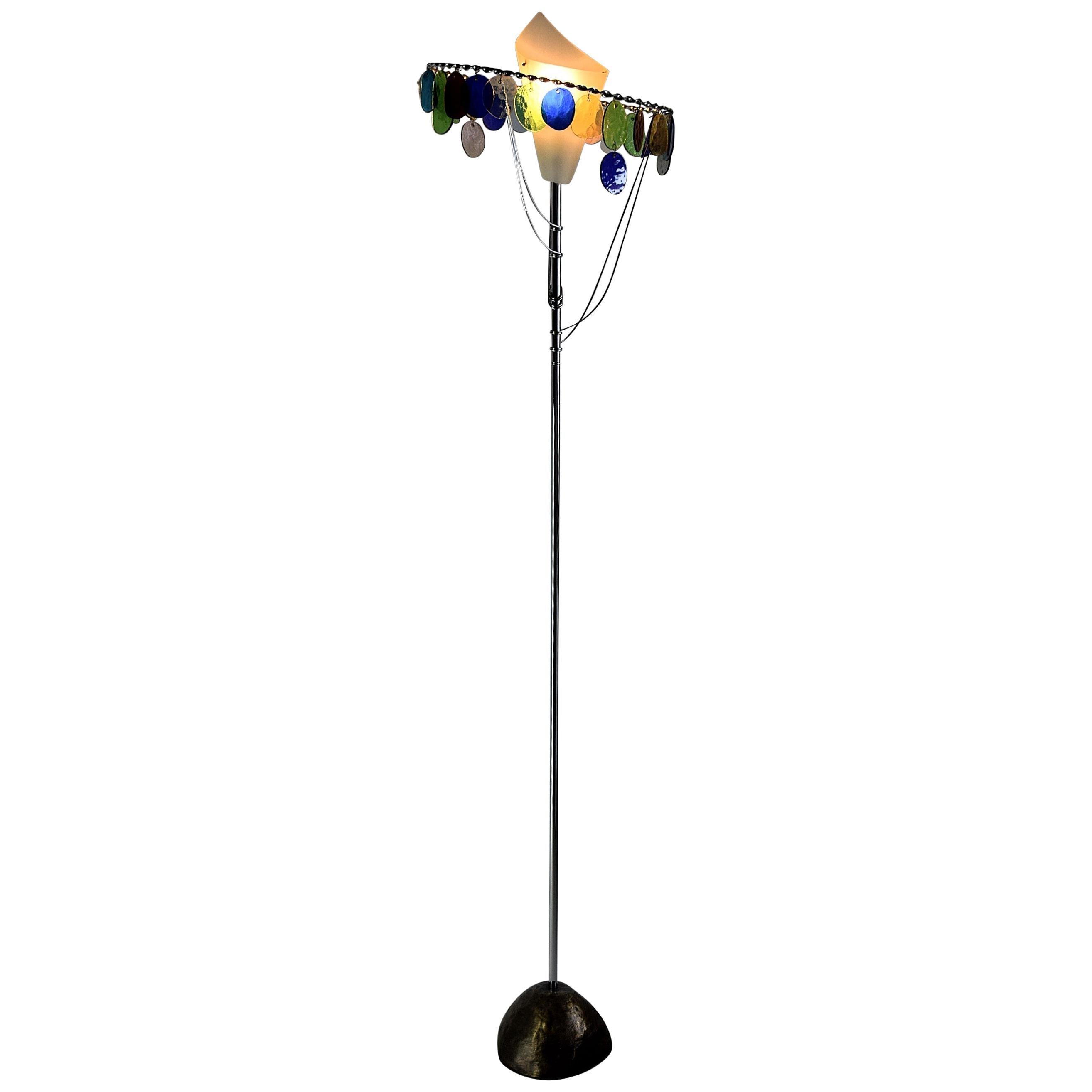 Sibari Floor Lamp by Toni Cordero for Artemide, 1990