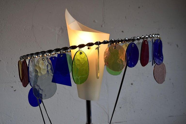 Italian Sibari Table Lamp by Toni Cordero for Artemide For Sale