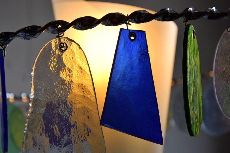 Art Glass Sibari Table Lamp by Toni Cordero for Artemide For Sale