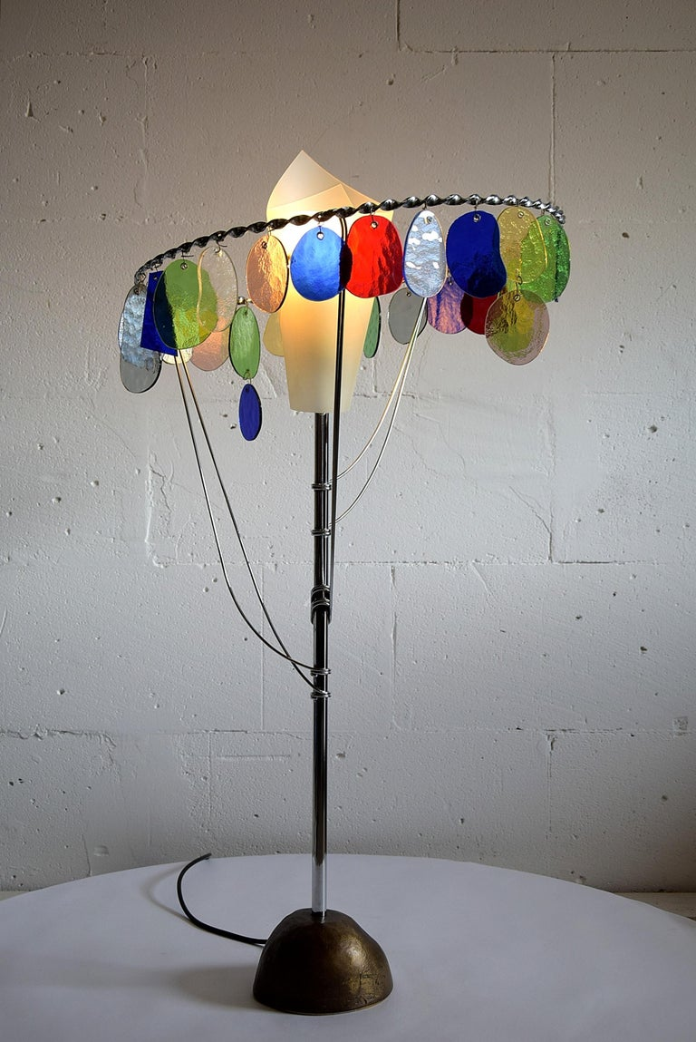 Sibari Table Lamp by Toni Cordero for Artemide For Sale 2