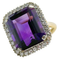 Amethyst Ring by the Creators of the Queen's Crown and Princess Diana's Ring