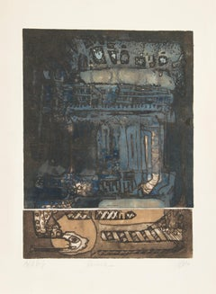 Karnak, Etching by SICA