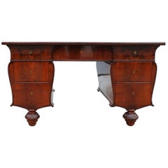 Sicilian Mahogany Feather Desk, Made in the Second Half of the 19th Century