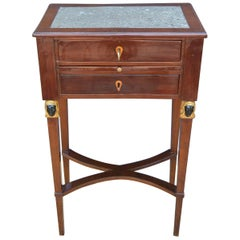 Sicilian Neoclassical Marble Top Table