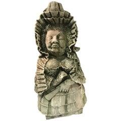 Sicilian Stone Gnome, Italy, 19th Century