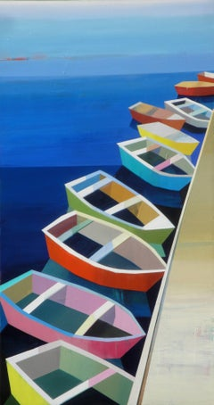 COLORFUL DAY WITH BOATS #20