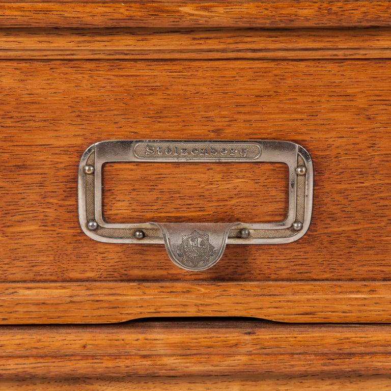 Oak Side Cabinets by Stolzenberg of Baden-Baden For Sale