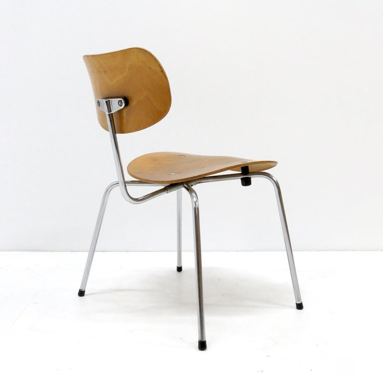 Mid-20th Century Side Chairs by Egon Eiermann for Wilde & Spieth For Sale