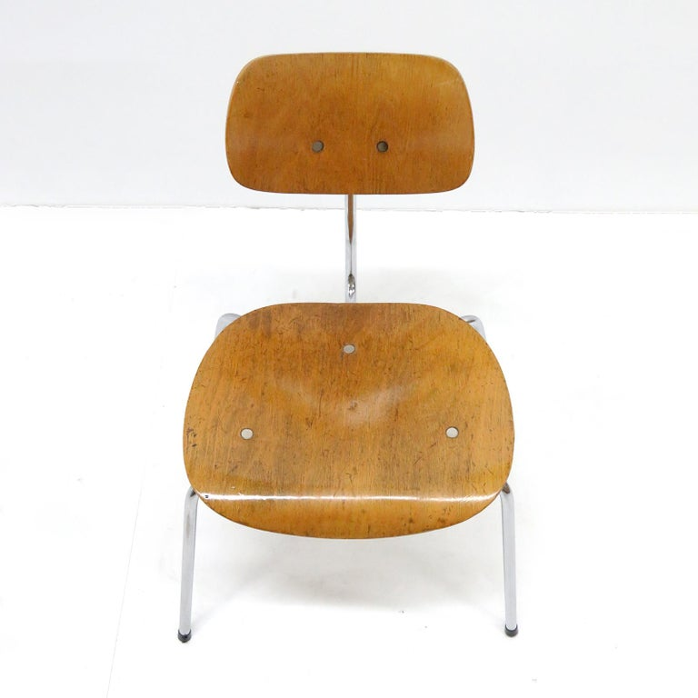 Side Chairs by Egon Eiermann for Wilde & Spieth For Sale 1