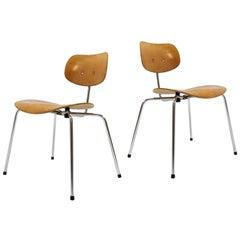Side Chairs by Egon Eiermann for Wilde & Spieth