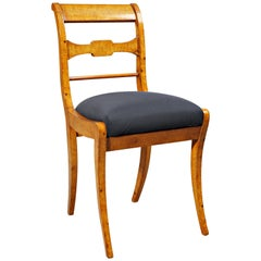 Side Frame Chair in the Biedermeier Style