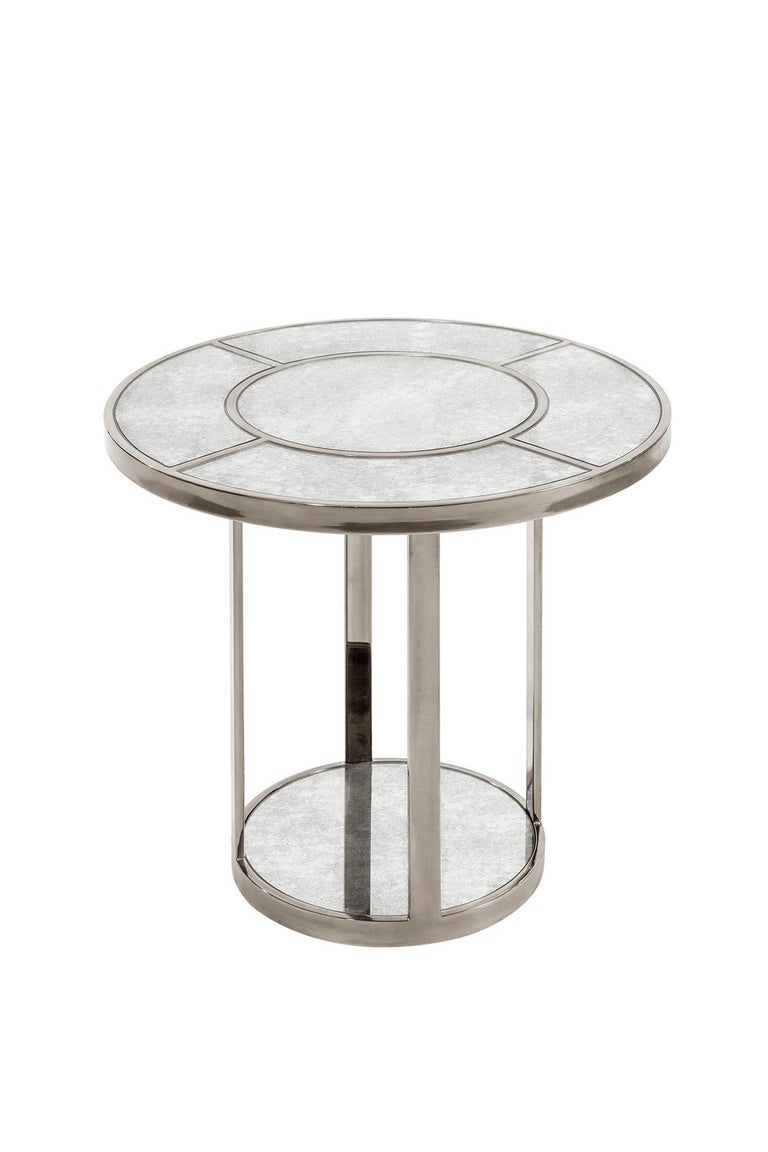 Side-Liner Table, Modern Art Deco Side or Coffee Table In New Condition For Sale In Istanbul, TR