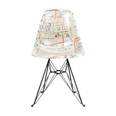 Side Shell Eiffel Chair 'Jackson' after Jean-Michel Basquiat