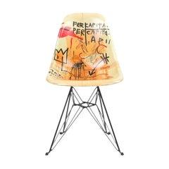 Side Shell Eiffel Chair 'Per Capita' after Jean-Michel Basquiat