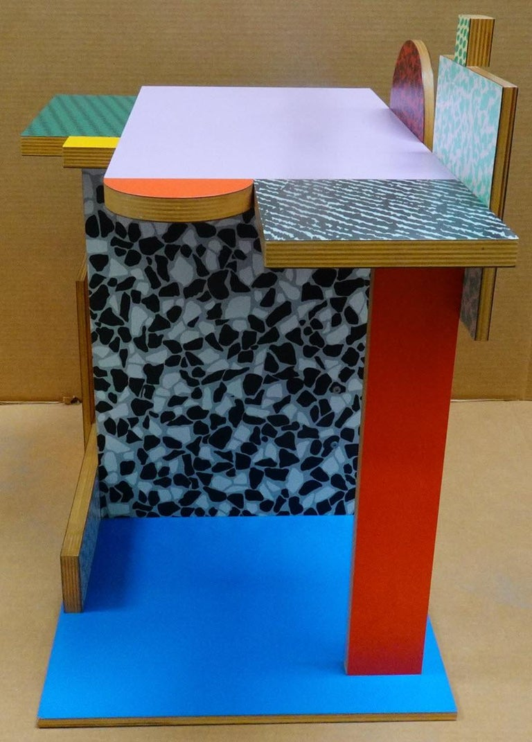 American 'Side Table 9' Side Table by Peter Shire, 1984 For Sale