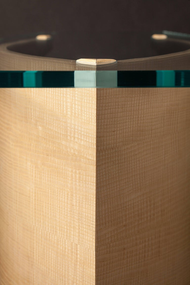 Contemporary Side Table by Fred Rossi