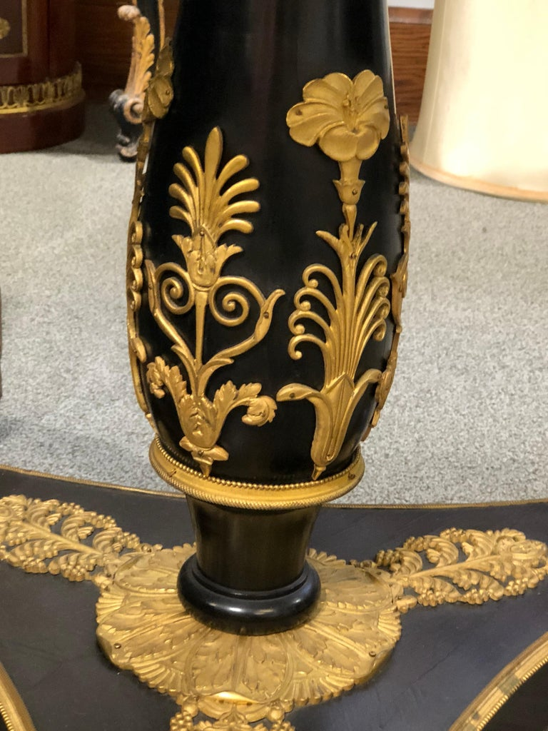 Inlay An Ormolu Mounted Side Table For Sale