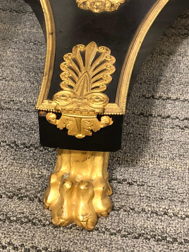 An Ormolu Mounted Side Table For Sale 2