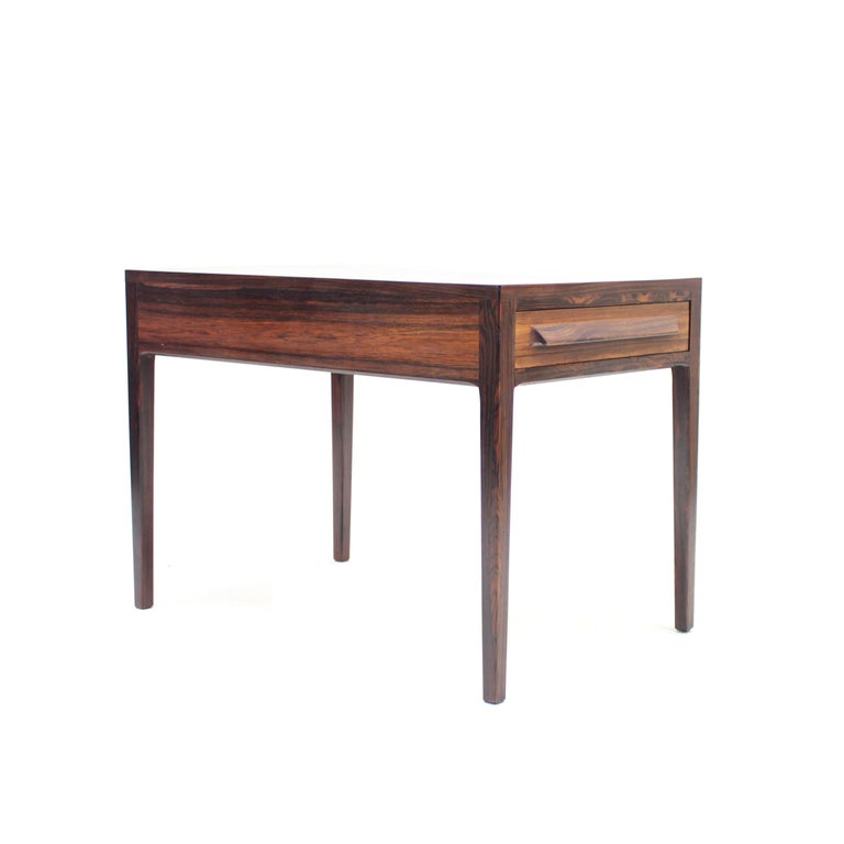 Rosewood Side Table by O.P. Rykken & Co, Norway, 1960s For Sale