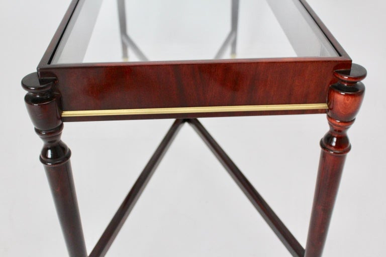 Mid-Century Modern Vintage Coffee Table Attributed to Paolo Buffa, Italy 1940s For Sale 8