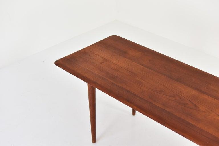 Scandinavian Modern Side Table by Peter Hvidt & Orla Molgaard-Nielsen for France & Son, DK, 1960s For Sale