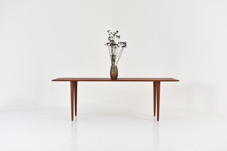 Mid-20th Century Side Table by Peter Hvidt & Orla Molgaard-Nielsen for France & Son, DK, 1960s For Sale