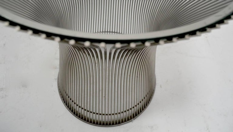 Mid-Century Modern Side Table by Platner For Sale