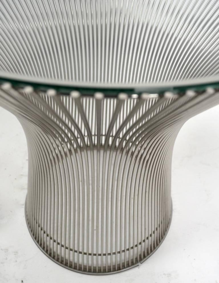 American Side Table by Platner For Sale
