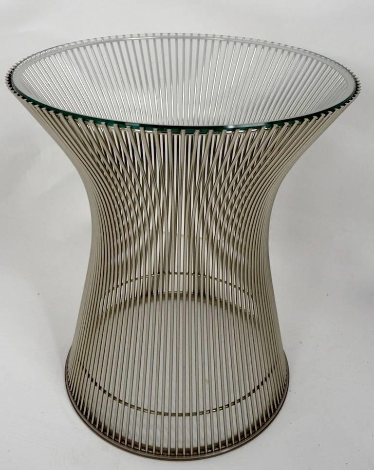 20th Century Side Table by Platner For Sale