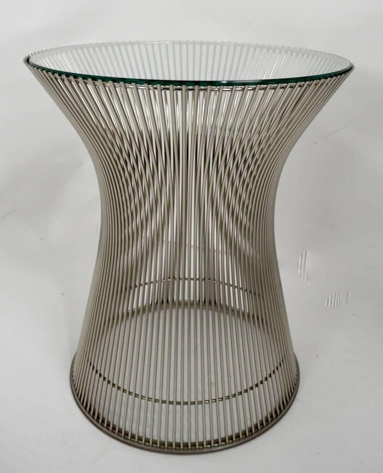 Side Table by Platner For Sale 1