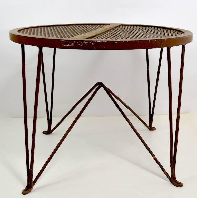 Mid-Century Modern Side Table by Salterini For Sale