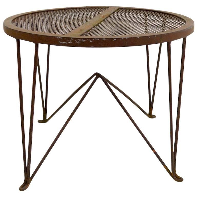 Side Table by Salterini For Sale