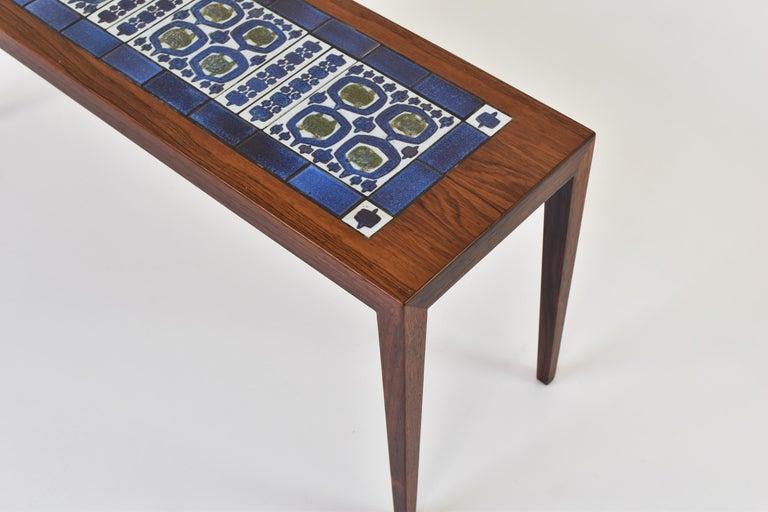 Scandinavian Modern Side Table by Severin Hansen for Haslev, Denmark, 1965 For Sale